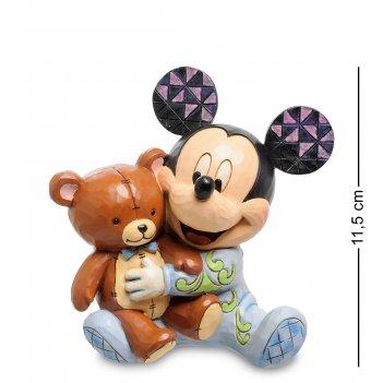 Disney-4046060 фигурка микки маус с медвежонком (любимый друг)