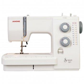 Швейная машина janome se 518, 21 операций, обметочная, потайная, эластична