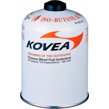 Баллон газовый резьбовой kovea screw type gas 450 g kgf-0450