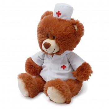 Мягкая игрушка «медвежонок доктор, 50 см