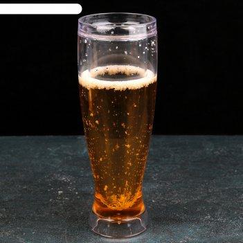 Бокал для пива охлаждающий 450 мл 8,3х8,3х24 см