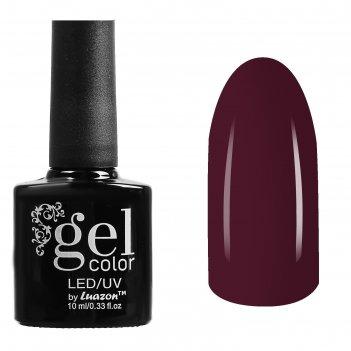 Гель-лак для ногтей трёхфазный led/uv, 10мл, цвет в2-009 тёмно-бордовый