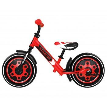 Детский алюминиевый беговел small rider roadster 3 (classic air)  (красный