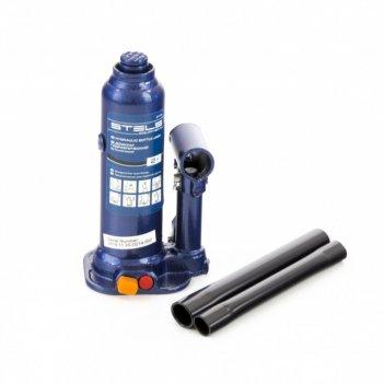 Домкрат гидравлический бутылочный, 3 т, h подъема 188-363 мм, в пластиково