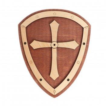 Деревянное оружие «щит» 24 x 29 x 3,2 см