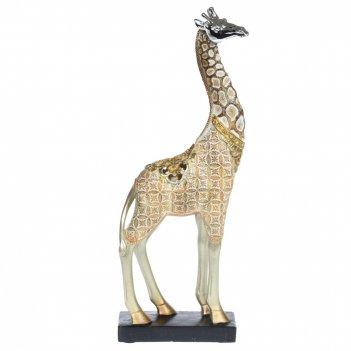 Фигурка декоративная жираф, l12,5 w7 h33 см