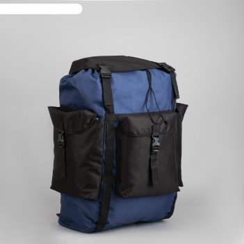 Рюкзак тур большой лесной 78, 37*30*69, 78л, отд на шнурке, 3 н/кармана, к