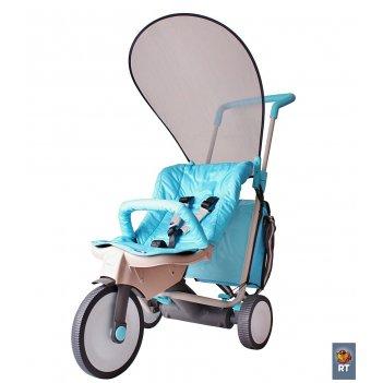 Велосипед-коляска 3 в 1 italtrike evolution blue