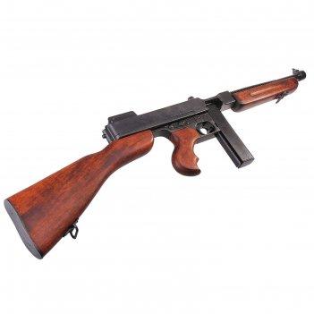 Макет пистолет-пулемета томпсон, 45 мм, америка 1928 г., m1
