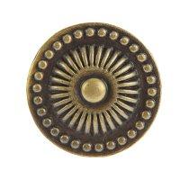 Ручка-кнопка 14.133.33 713l, цвет бронза