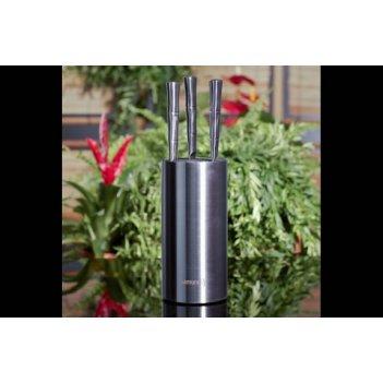Подставка универсальная для ножей samura bamboo, 220мм(металл)