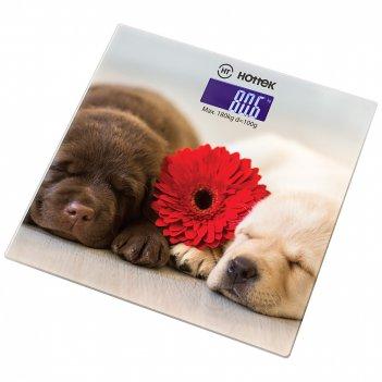 Весы напольные собаки hottek ht-962-016 30*30 см макс.вес 180 кг (кор=6шт.
