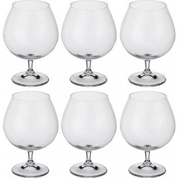 Набор бокалов для коньяка из 6 шт. gastro/colibri 690 мл высота=15,5 см (к