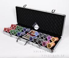 Ultimate 500 silver - профессиональный набор для покера
