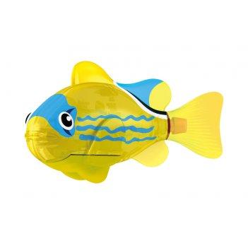 Светодиодная роборыбка желтый фонарь лицензия от robofish zuru