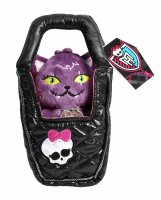 Т56515, monster high плюшевый питомец - кот полумесяц в сумочке, 14 см