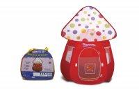 Т53917, 1toy красотка детская игровая палатка-мухомор в сумке