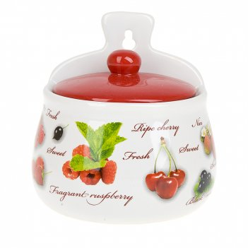 Солонка (навесная) садовая ягода 12*8,5*12см. v=500мл. (подаро