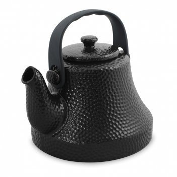 Чайник, объем: 1,7 л, материал: керамика, цвет: графит, серия hammered, ce