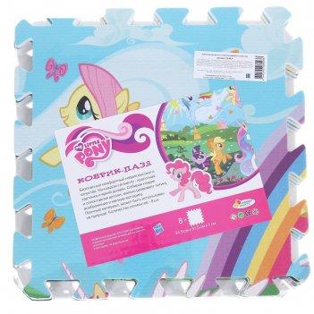 Коврик-пазл my little pony 8 сегментов  fs-mlp