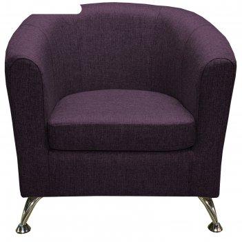 Кресло во, рогожка баклажан