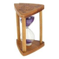 Часы песочные. серия бамбук. 5 минут. треугольник с колонами, urban, микс
