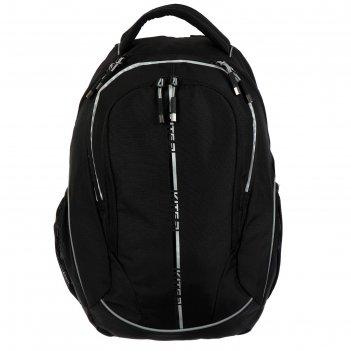 Рюкзак школьный kite 816, 45 х 32 х 14, сity, чёрный/серый