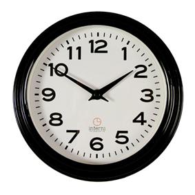 Настенные часы b&s m168 bk-a