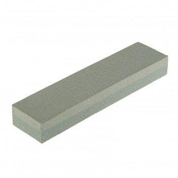 Брусок абразивный tundra basic, двухсторонний р120/240, 200 мм