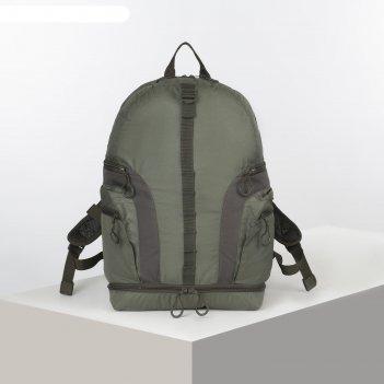 Рюкзак тур explorer 2, 35л, отд на молнии, 2 н/кармана, олива