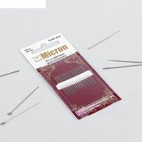 Иглы швейные для пэчворка, №10, ksm-402, 20шт