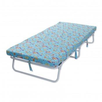 Кровать раскладная детская на ламелях морфей-м1, с матрасом 7 см