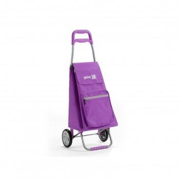 Сумка-тележка, цвет фиолетовый