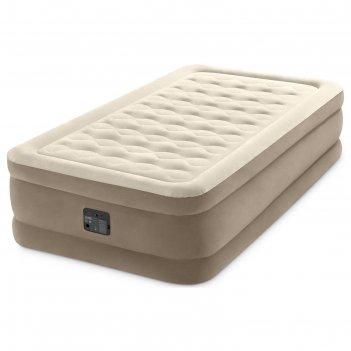 Кровать надувная ultra plush bed 99 х 191 х 46см, встроенный насос 220v 64