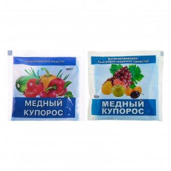 Антисептик медный купорос домен пакет 100гр