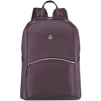 Рюкзак женский wenger, сливовый, пвх/полиэстер, 31x16x41 см, 18 л