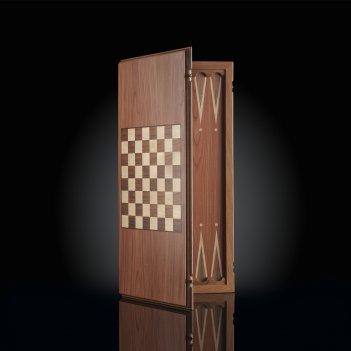 Нарды-шашки (два в одном) темный корпус kadun
