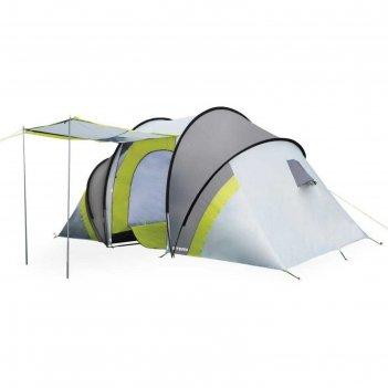 Палатка туристическая аtemi seliger 4 cx, двухслойная, четырёхместная