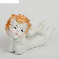 Статуэтка ангелочек  с глазами 11*7*18 см гипс