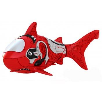 Роборыбка акула (красная) лицензионное изделие от robofish zuru