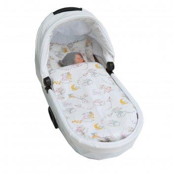 Комплект в коляску mommy star «мышата в облаках»