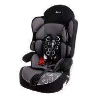 Детское автомобильное кресло siger драйв гр. 1-2-3 (серый)