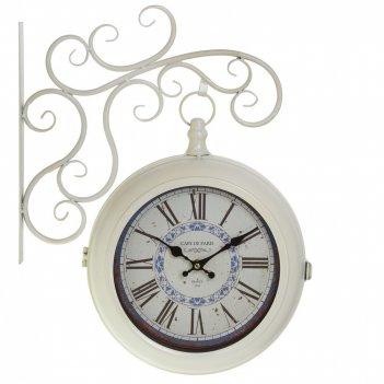 Часы настенные декоративные двусторонние, l43 w9 h50 см, (2хаа не прилаг.)