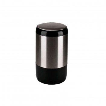 Урна для мусора lima, вращающаяся крышка, 20л, d=28,5, h=50,5 см, цвет чер