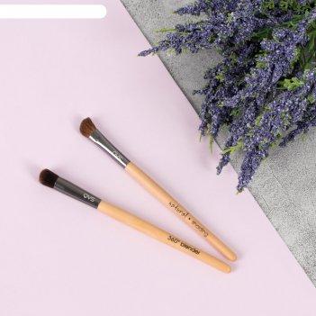 Набор кистей для макияжа, 2 предмета