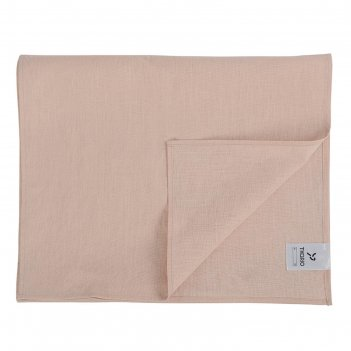 Дорожка на стол из умягченного льна essential, 45х150 см, цвет розово-пудр