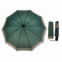 Зонт механический, r=55см, цвет зелёный