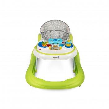 Ходунки детские с электронной игровой панелью amarobaby strolling baby, цв