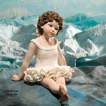 Albertine  фарфоровая статуэтка, h.16,5 см