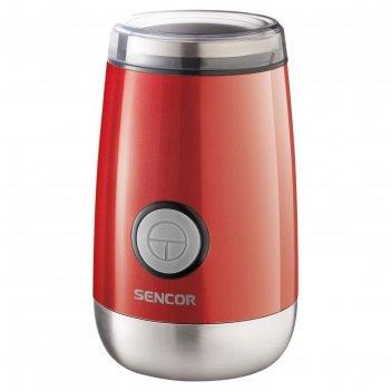 Кофемолка sencor scg 2050rd, 150 вт, 60 г, красная